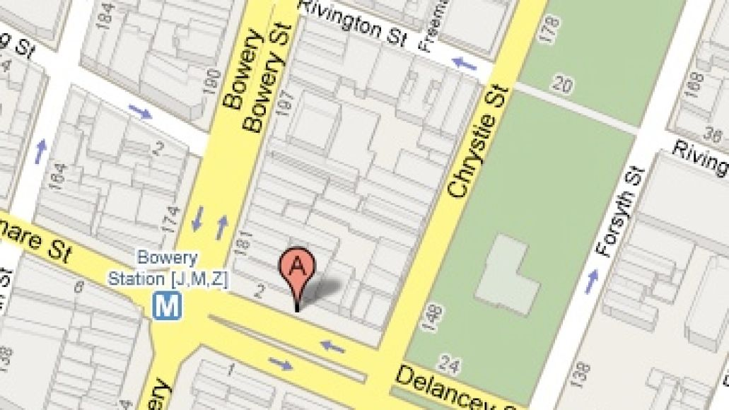 bowery2 Where We Live: Bowery Ballroom   New York, NY