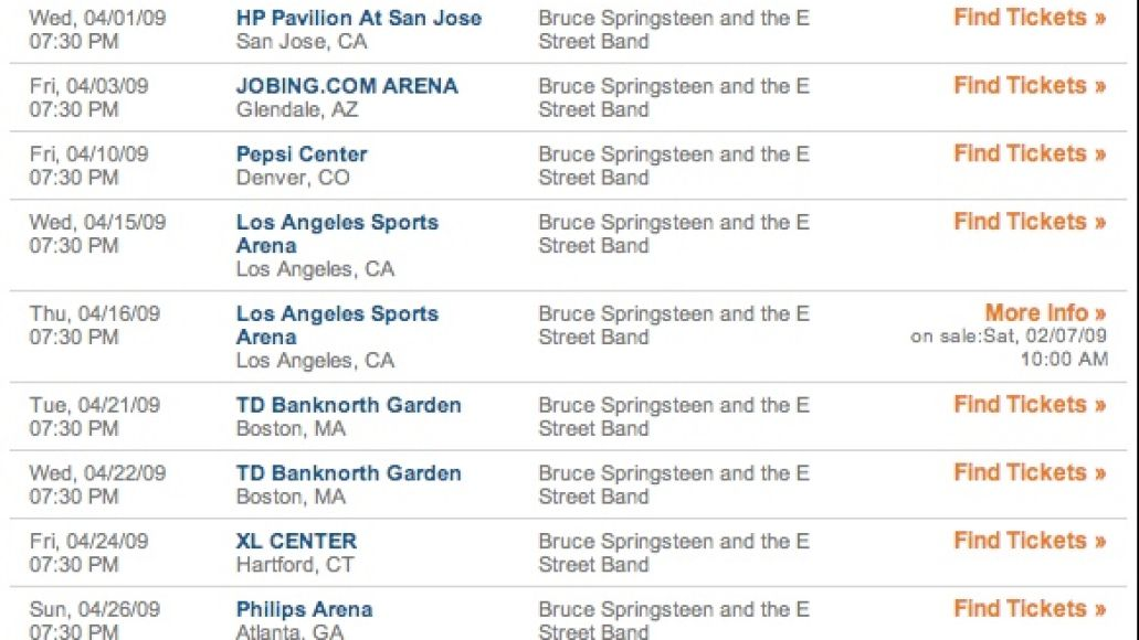 brucetixs Who likes Ticketmaster? Not Bruce or Congress...