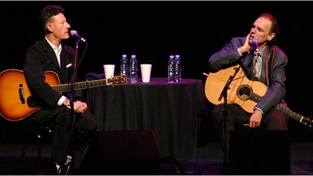 hiatt600 Hiatt and Lovett talk, swap, and rock in Pittsburgh (2/5)