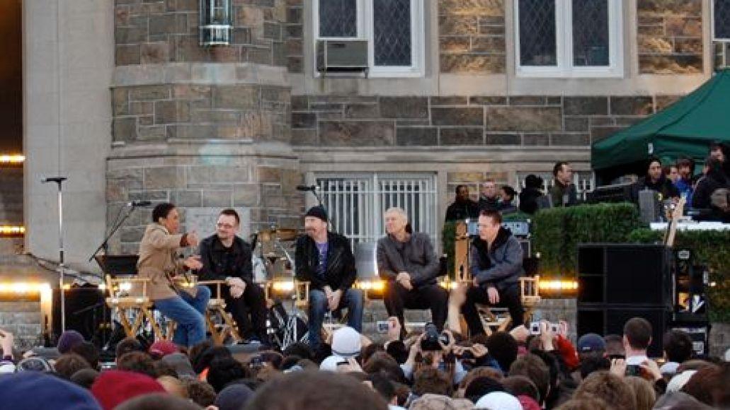 dsc 0017 U2 wakes up Fordham University (3/6)