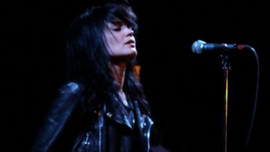 deadweather1 In Photos: The Dead Weather makes debut at Bowery Ballroom (4/14)