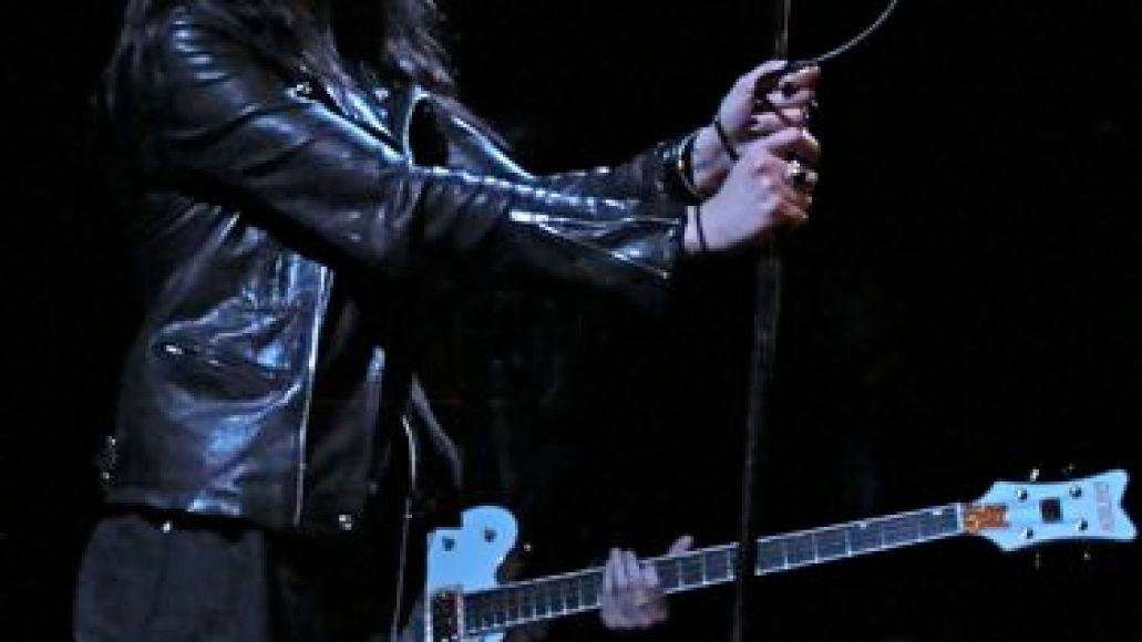 deadweather12 In Photos: The Dead Weather makes debut at Bowery Ballroom (4/14)