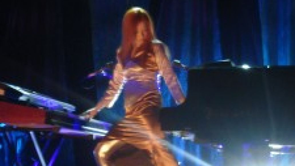 toripianos 225x300 Tori Amos gets sinful at The Chicago Theatre (8/3)