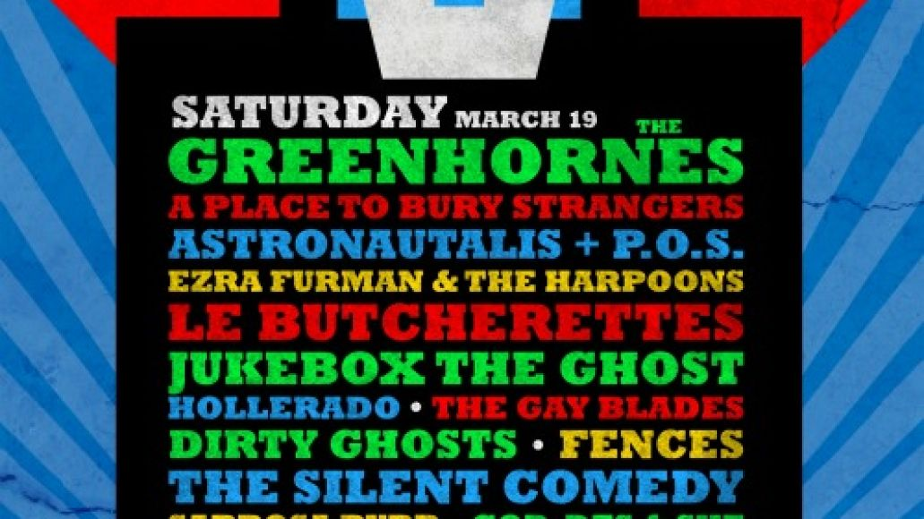aoa sxsw march 19 flyer Axis of Audio day party set times and other necessary details