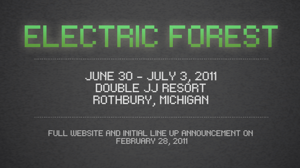 electric forest fest String Cheese Incident launch Electric Forest festival