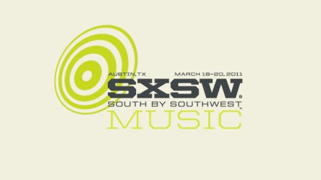 sxsw 2011 logo South by Southwest 2011 releases showcase schedule