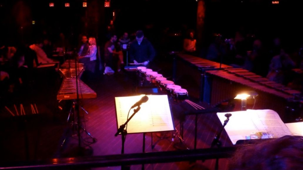 axiomdrummingnyc8 Live Review: Axiom performs Steve Reichs Drumming in NYC (5/8)
