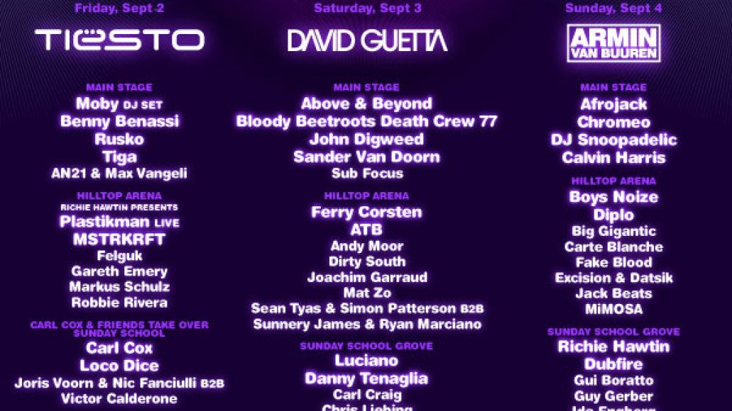 electric zoo 2011 Electric Zoo adds 40 acts to 2011 lineup