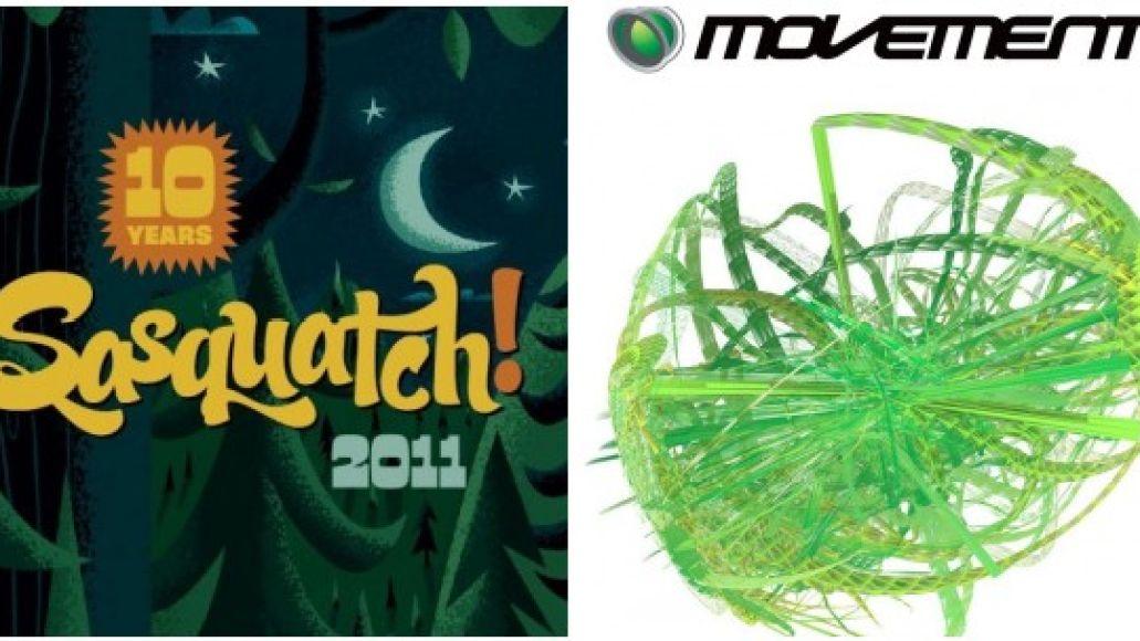 sasquatch movement Stream: Sasquatch! Music Festival, Movement Electronic Music Festival