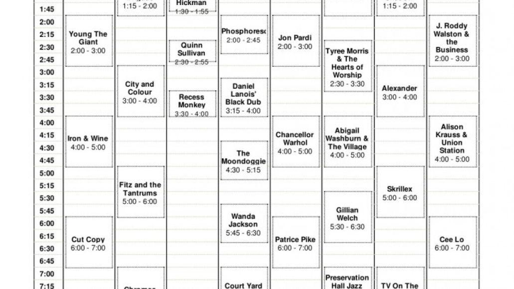 acl day 2 723x1024 Austin City Limits reveals 2011 set times