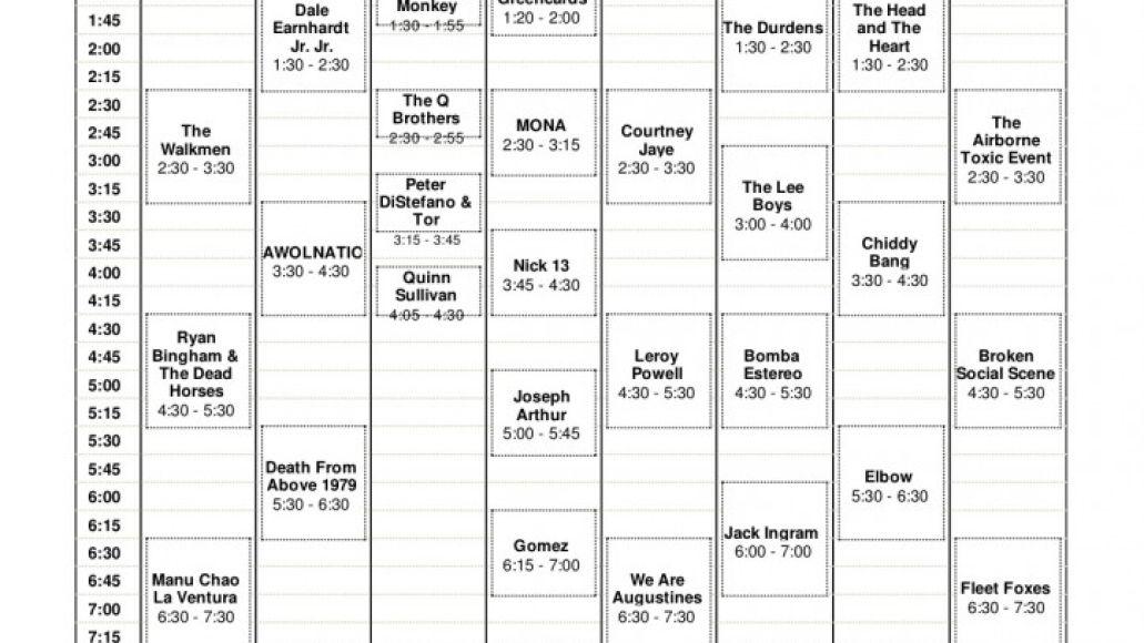 acl day 3 723x1024 Austin City Limits reveals 2011 set times