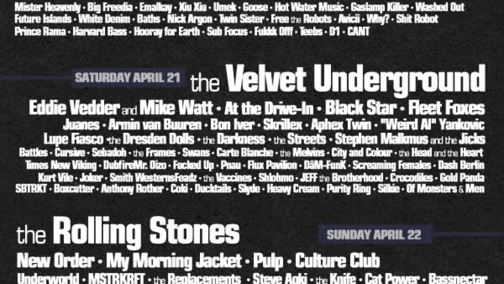 coachella fake 3 2 And we now have our first Coachella 2012 fake posters...