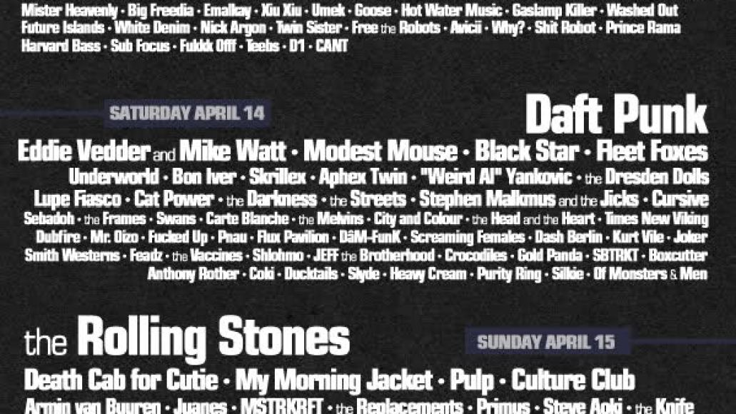 coachella fake 3 And we now have our first Coachella 2012 fake posters...