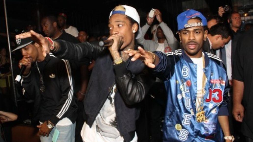 wizkhalifa and bigsean 580x392 Check Out: Wiz Khalifa, Big Sean, and Curren$y collaborate