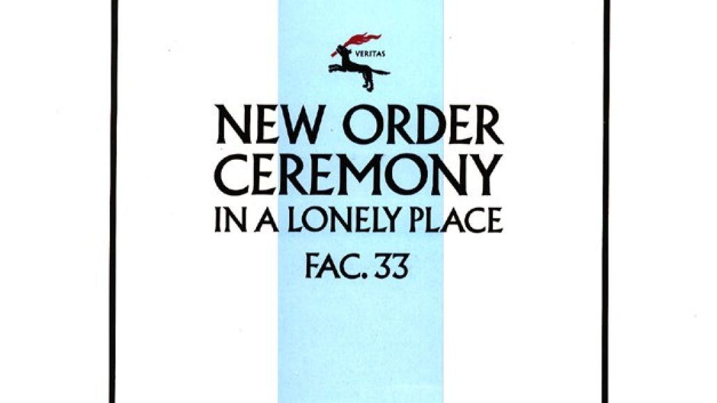 New Order Ceremony