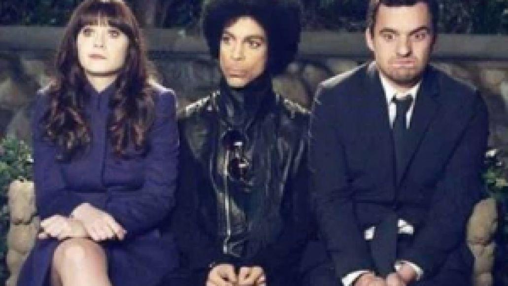 princenewgirlpic01 Heres Prince on the set of New Girl