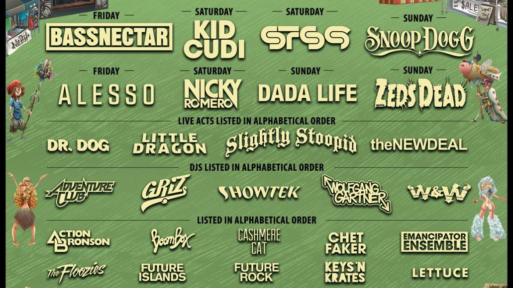 ncmf14 11x17 bydayv2 North Coast Music Festival reveals 2014 lineup