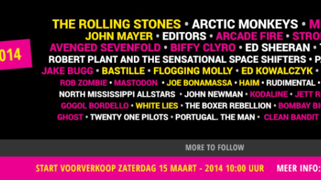 pinkpop Top 10 Music Festivals in Europe: Spring 2014 Power Rankings