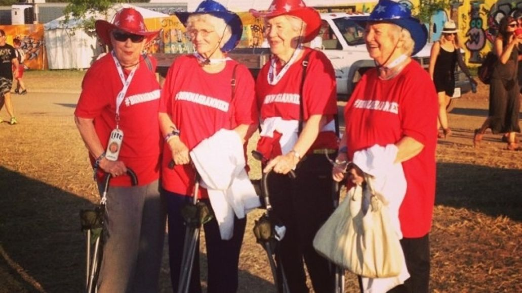 Meet Bonnaroos oldest attendees, the Bonnagrannies