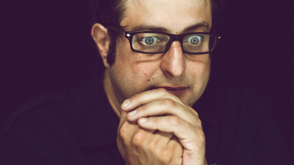 960 Crying and Coming and Tripping and Singing: Eugene Mirman on His Herculean New Comedy Record