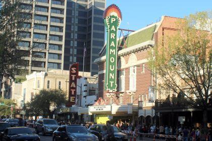 The Paramount Theatre // Photo by Heather Kaplan