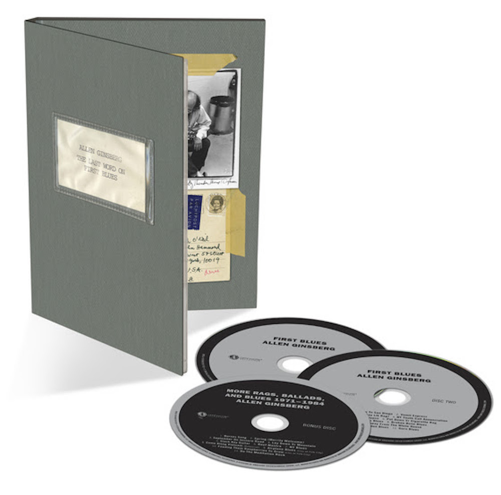 unnamed 11 Allen Ginsbergs First Blues to be reissued as a box set