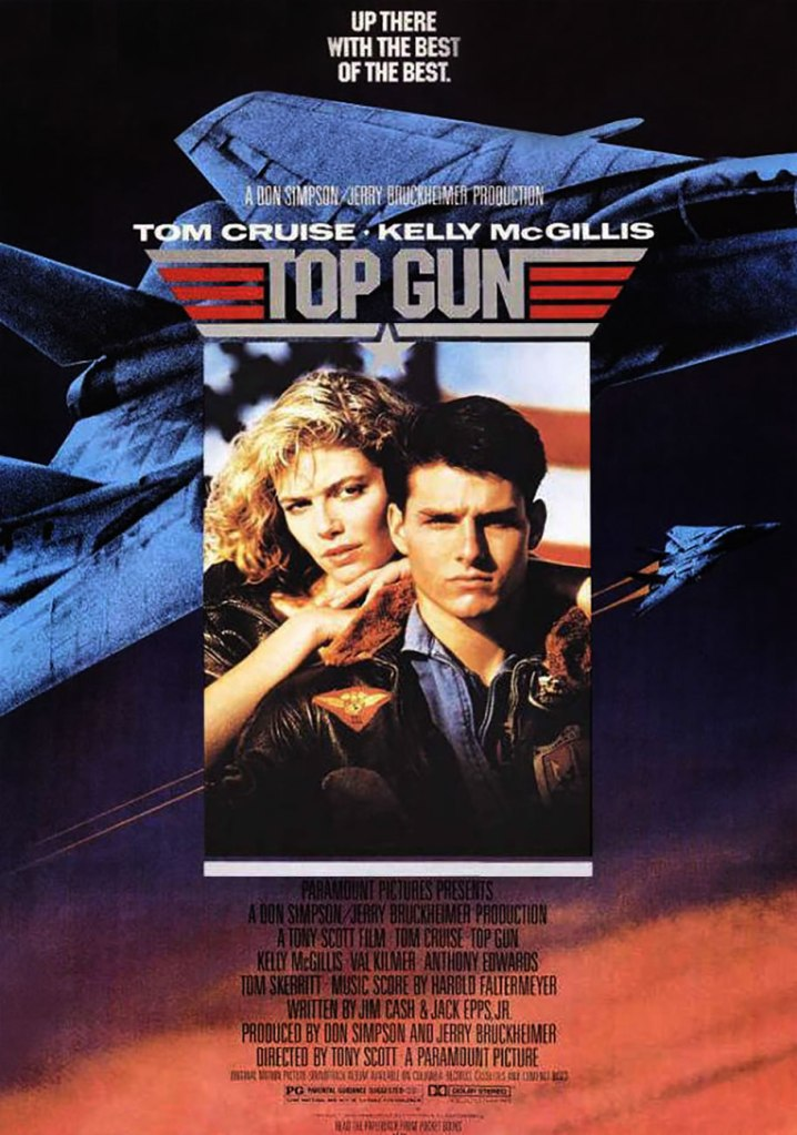 top gun poster Top Gun and the End of the Homoerotic Action Movie