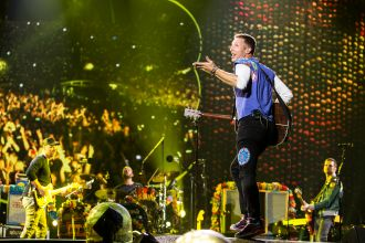 Coldplay // Photo by Philip Cosores
