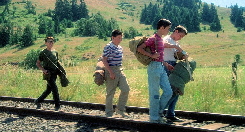 stand by me railroad tracks An Afternoon with Filmmaker Elijah Bynum: The Prodigy Behind Hot Summer Nights