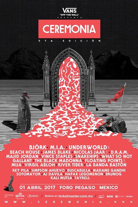 ceremonia 2017 Björk, M.I.A., Underworld to headline Mexicos Ceremonia Festival