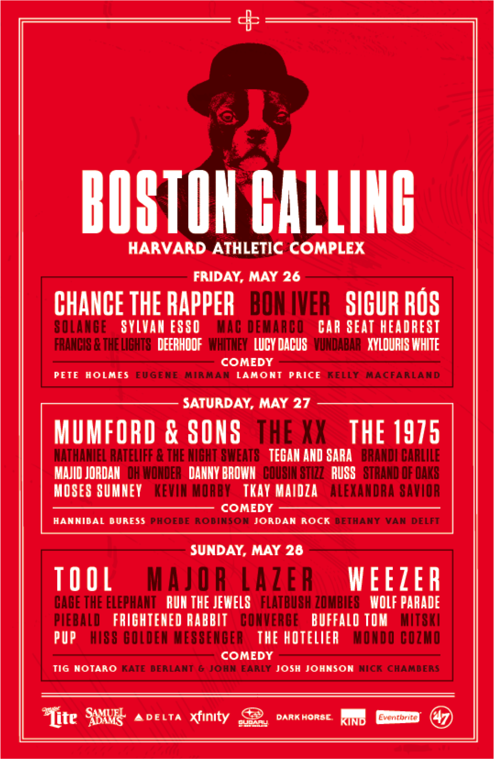 unnamed 1 Boston Calling replaces Natalie Portmans film festival with Hannibal Buress comedy festival