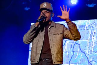Chance the Rapper // photo by Lior Phillips