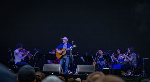 Paul Simon with yMusic // Photo by Lior Phillips