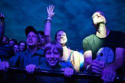 Sylvan Esso Crowd // photo by Lior Phillips