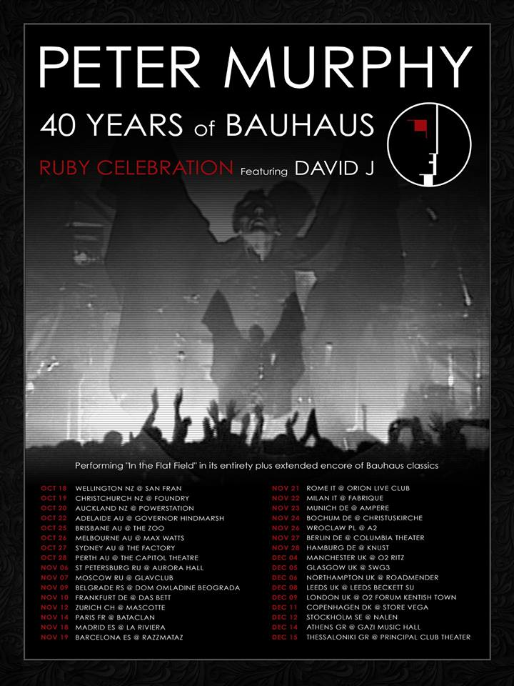 bauhaus ruby celebration tour
