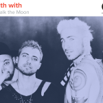 Kyle Meredith with Walk the Moon