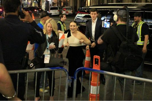 Booksmart, SXSW, Olivia Wilde, Red Carpet Photos, Heather Kaplan, Billie Lourd