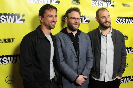 Good Boys, SXSW, Heather Kaplan, Red Carpet, James Weaver, Seth Rogen, Evan Goldberg