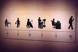 The Daily Show Presents the Donald J Trump Presidential Twitter Library, photo by Heather Kaplan