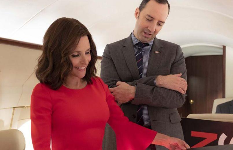 veep armando iannucci julia louis-dreyfus HBO series