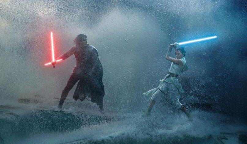 Kylo vs. Rey in Star Wars: The Rise of Skywalker