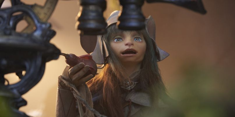 Rian (Taron Egerton) in The Dark Crystal: Age of Resistance