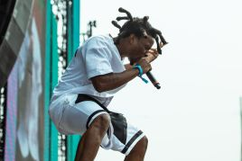Denzel Curry, photo by Julia Drummond Governors Ball 2019
