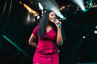 Noname, photo by Julia Drummond Governors Ball 2019