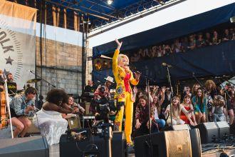 Dolly Parton Highwomen The Collaboration Newport Folk Festival 2019 Ben Kaye
