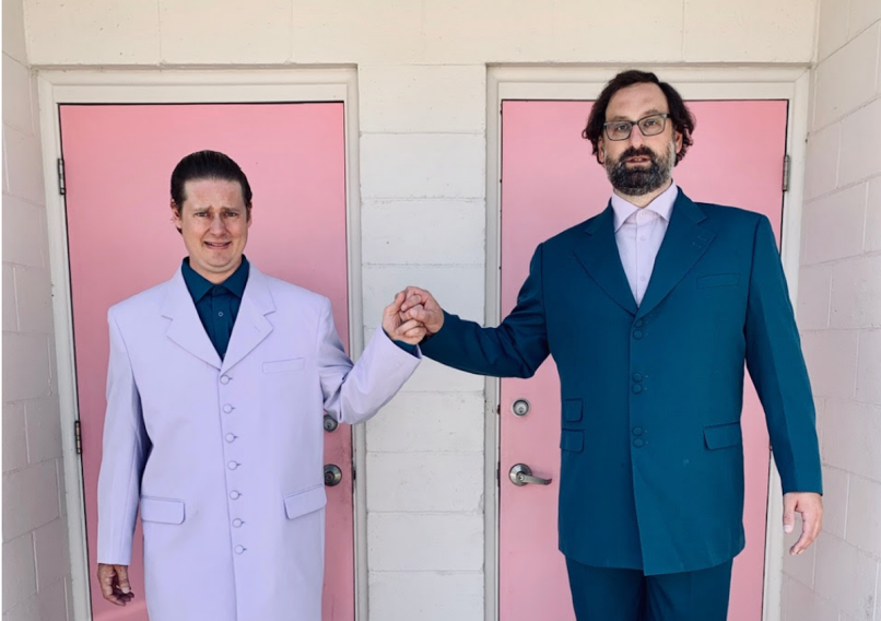 Tim Heidecker and Eric Wareheim Mandatory Attendance 2020 world tour Tim and Eric, photo by Caroline Bader