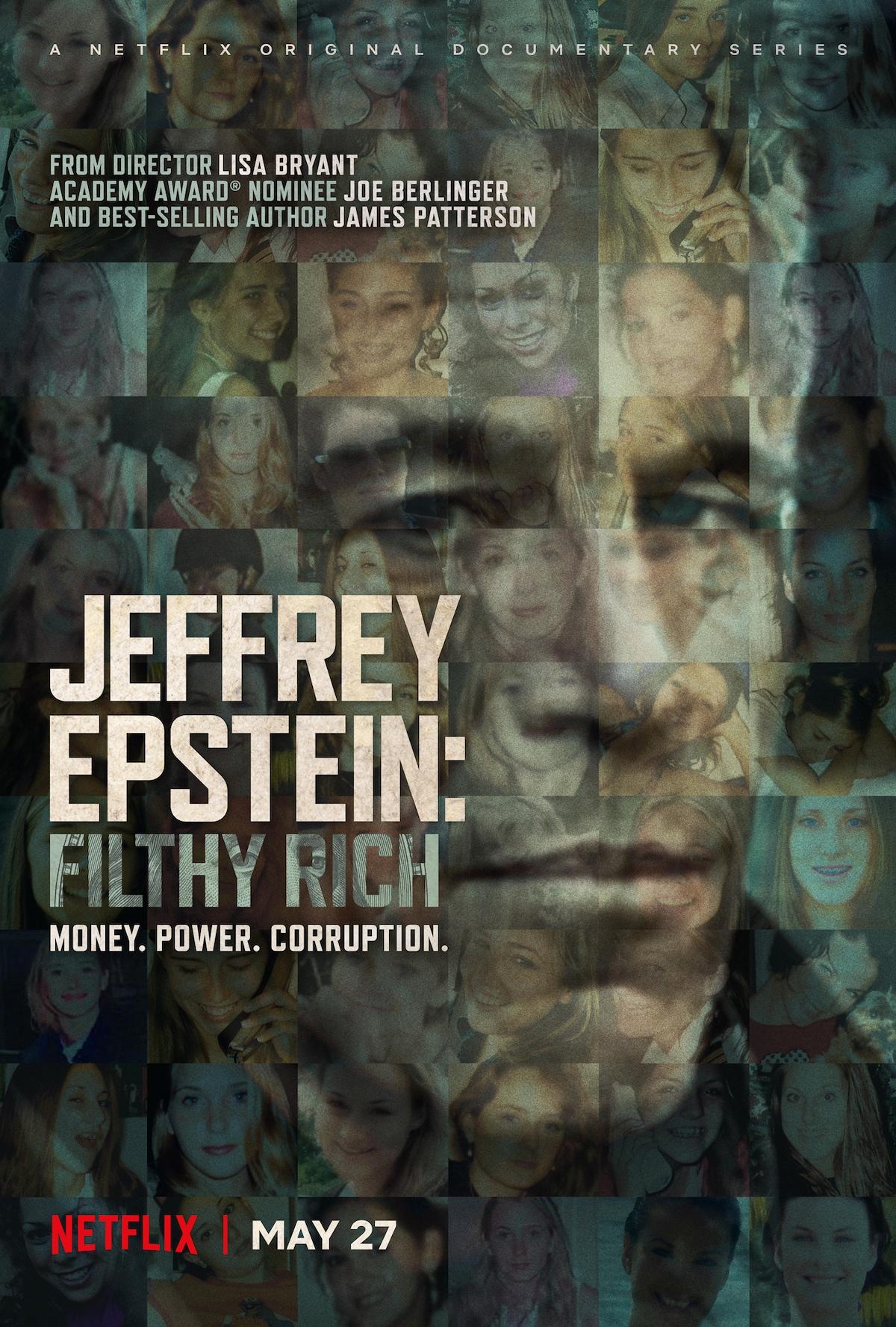 Jeffrey Epstein Filthy Rich netflix docuseries documentray poster