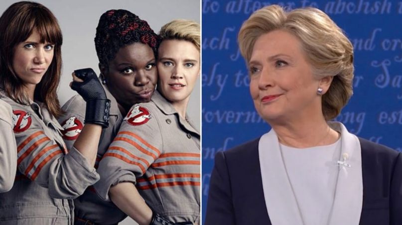 ghostbusters-reboot-all-female-hillary-clinton-campaign