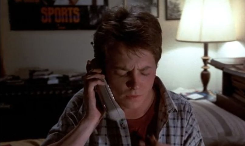 Marty McFly's Huey Lewis & the News Poster