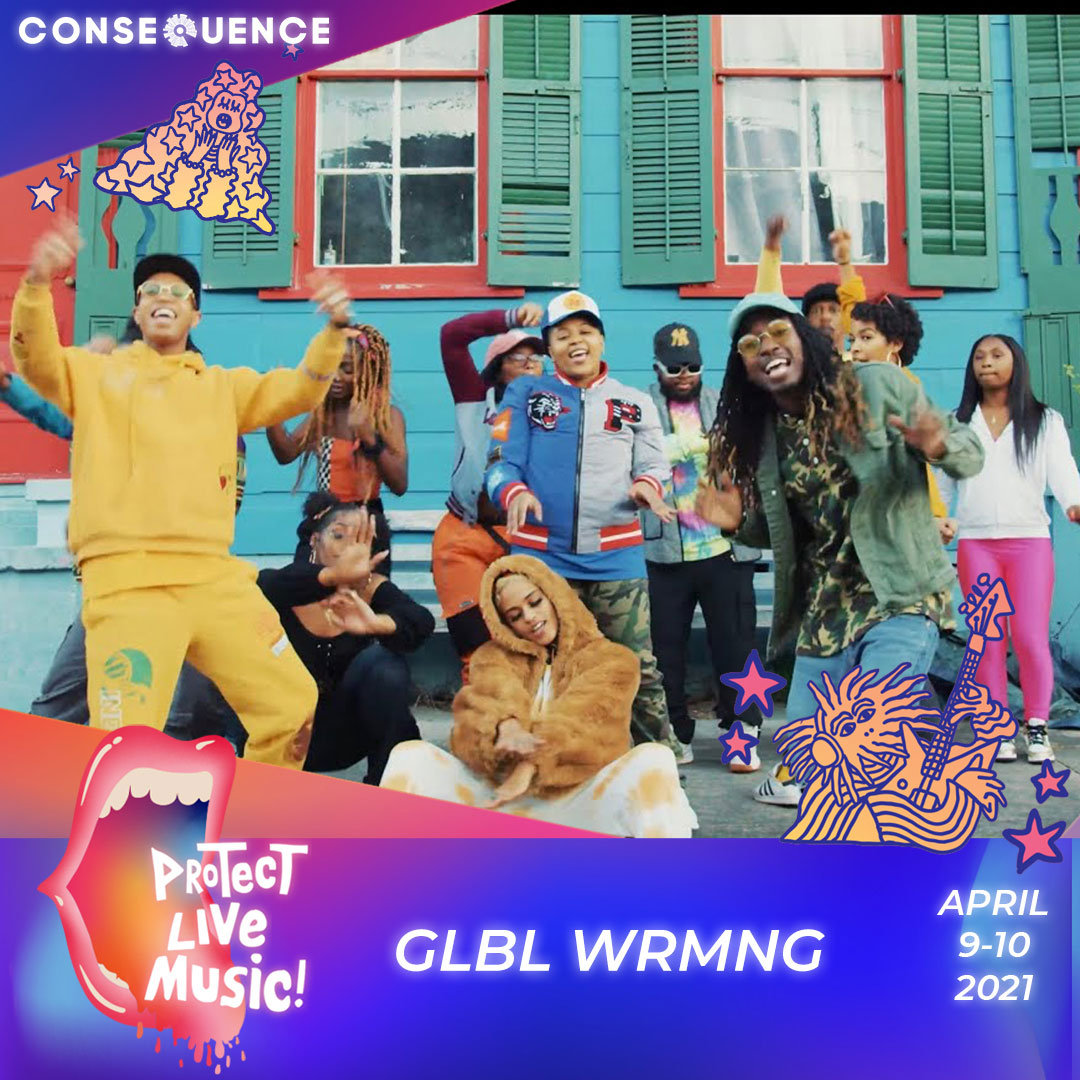 GLBL WRMNG IG Protect Live Music Livestream: Get Your Free Ticket